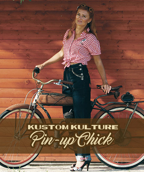 Kustom Kulture Pin-up Chick